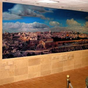 Click to Enlarge Jerusalem Mural