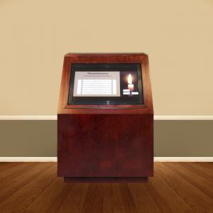 Click to Enlarge Interactive Memorial Kiosk